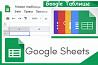 Разработка для бизнеса Гугл таблицы, гугл формы Москва